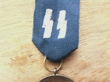 SS 8 year service medal REAL OR FAKE!!