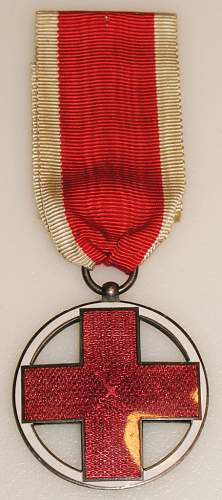 German Red Cross Medal?? Need help ID'ing this Medal...