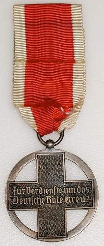 German Red Cross Medal?? Need help ID'ing this Medal...