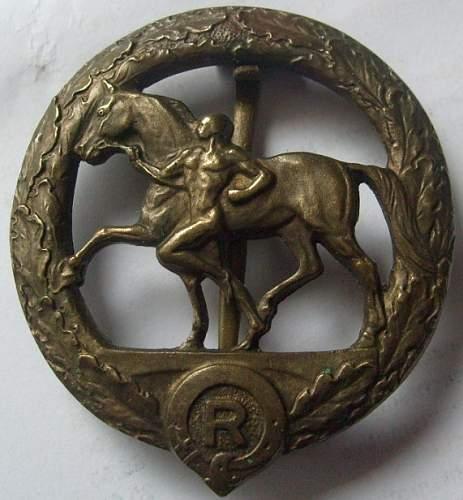 Deutsche Pferdfleger Abzeichen