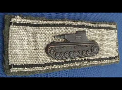 Single-Handed Tank Destruction Badge