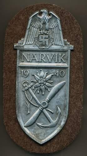 Narvik Shield Fake Gallery