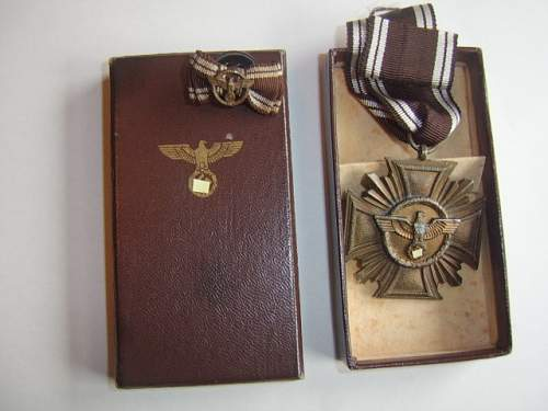 olympiade medal/nsdap 10 years service