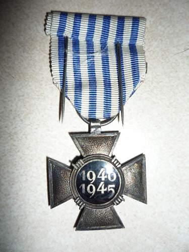 German POW medal/award/badge/patch/etc?