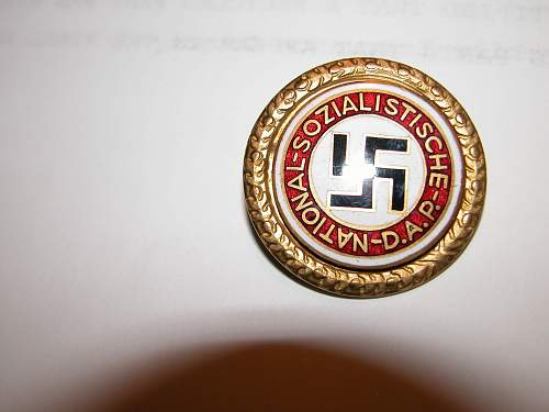 NSDAP Reproduction or ???