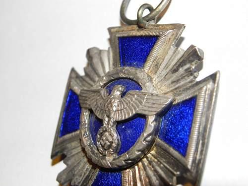 nsdap long service medal
