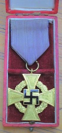 Cased 40 yrs Service Medal Treuedienst-Ehrenzeichen