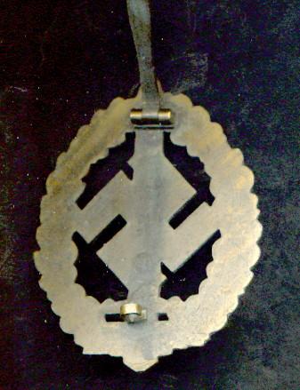 SA War Disabled Badge, opinions?