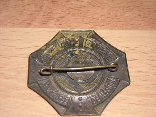 Identify this badge