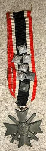 Parade Mounted Kriesverdienstkreuz 2nd Class