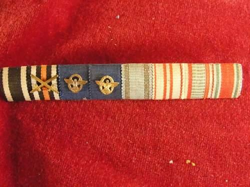 police ribbon bar