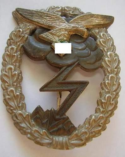 Erdkampfabzeichen // Eagle Cap NSDAP