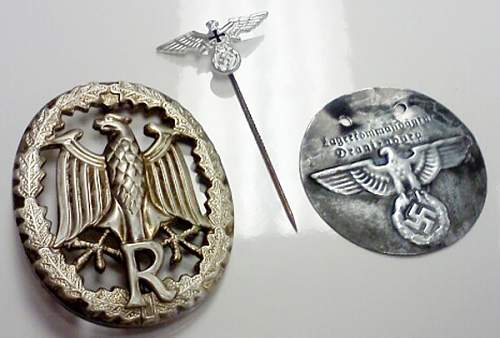 I need help ID'ing a couple of these medals/badges...