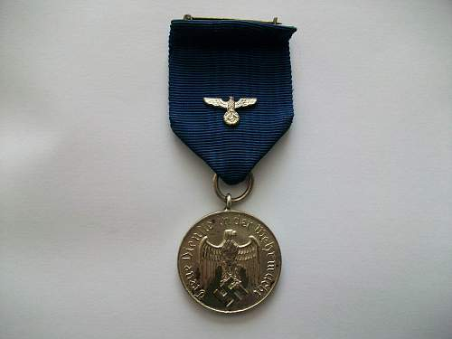 4 year service medal