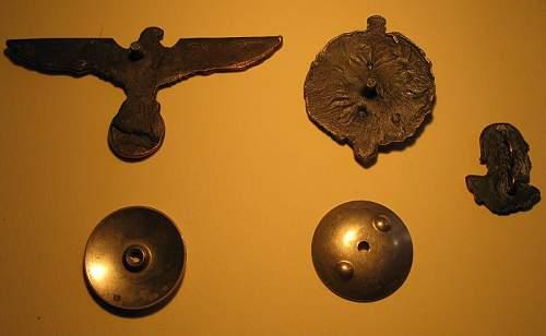 Various German badges/insignia