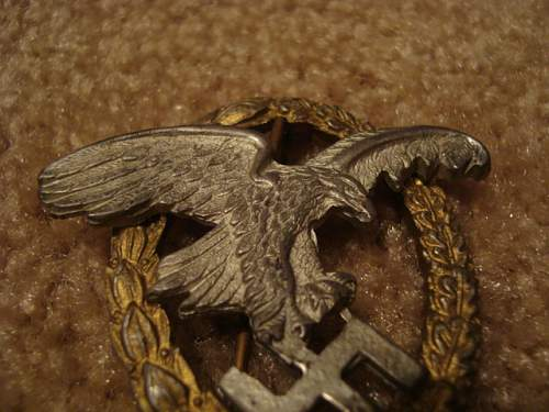Help With A luftwaffe Badge Please