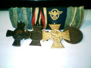 world war medals 1 or 2