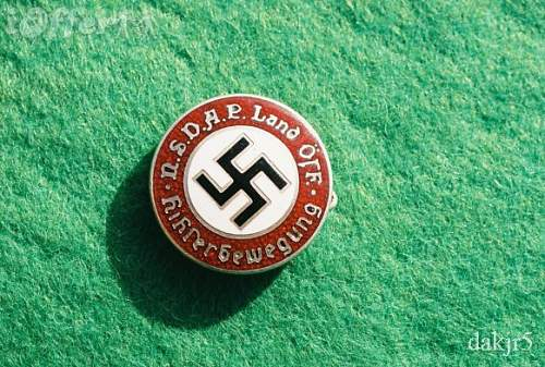 Need opinions on this nazi party styled badge