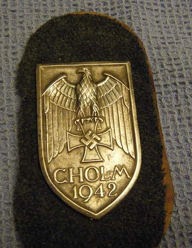 Cholm shield for your opinions please