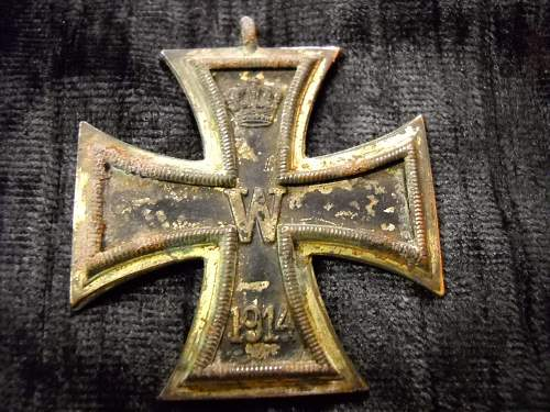 Dagger, Pistol, Pens, Ribbon, Iron Cross, Buckels,....All brought back from France by my Good Friend