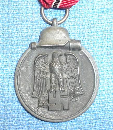 Ostmedaille - marked or no?