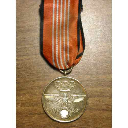 1936 OLYMPIC GAMES COMMEMORATIVE MEDAL Your Opinions, please