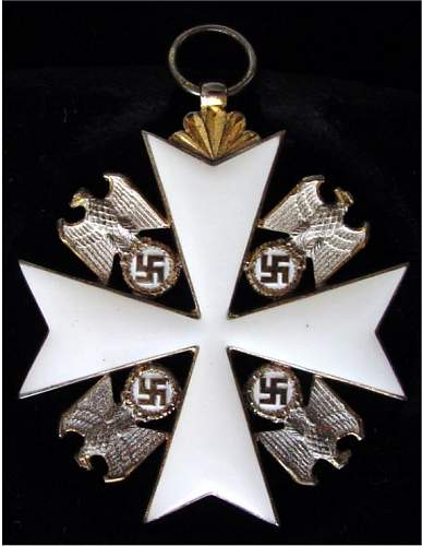 German Eagle Order 1st Class: real or fake?