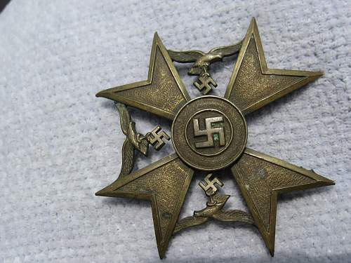 1936 Spanish Uprising Next Of Kin Medal....Confirmation