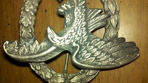 Luftwaffe Beobachterabzeichen... fake?