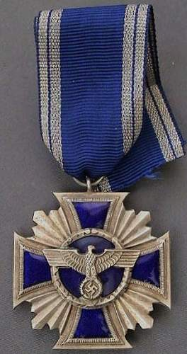 NSDAP long-service medal