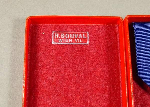 Treue dienste 25 jaar R.Souval