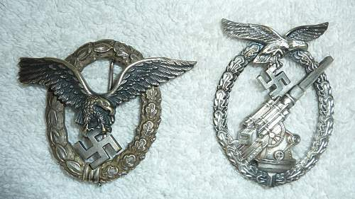 Need opinions on two new badges