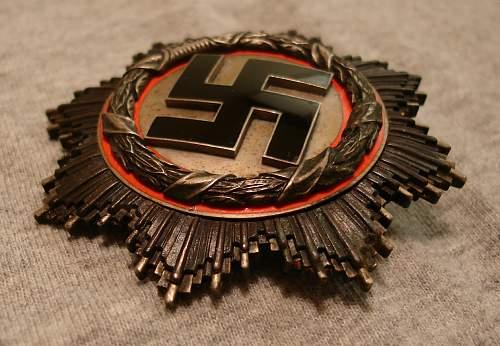 Deutsche Kreuz in Silber - authenticity?