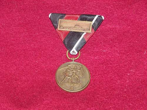opinion German  on medals
