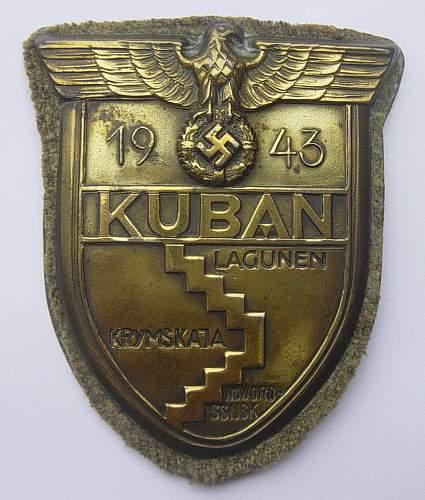 Kuban shield - help please
