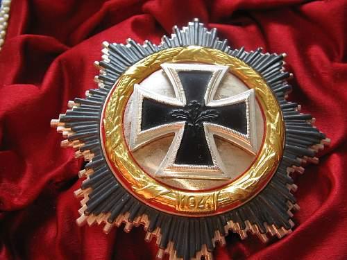 Ritterkreuz mit Eichenlaub Konvolut - but from 1957!
