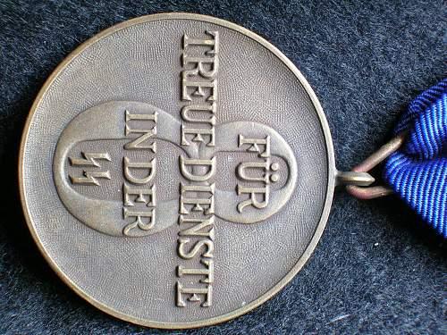 SS-Dienstauszeichnungen 8yr by Deschler