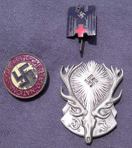 A few pins real or fake?