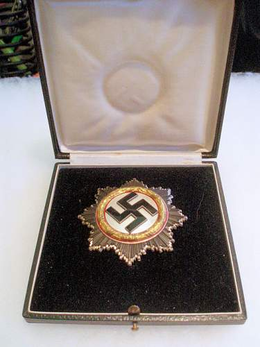 Postumous Award of the Deutsche Kreuz in Gold to SS Officer