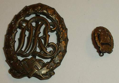 WW2 German Badges/Cuff Title