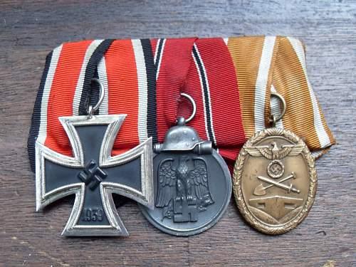 3 place medal spange