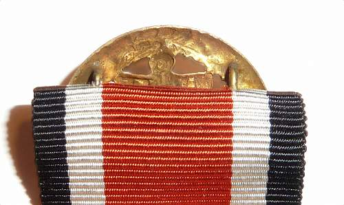 Kriegsmarine Honor Roll Clasp: Hoping for a better answer