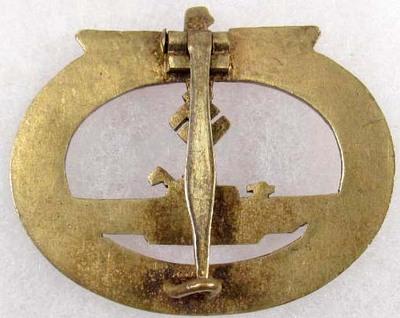 Luft para badge and u-boat badge,,,need opinions