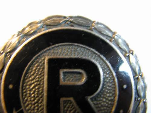 Opinions on Reichsverband/Zucht und Prufung badge