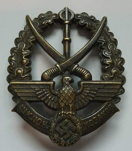 Young Cossack badge