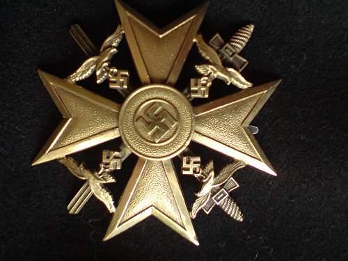 Spanien Kreuz.
