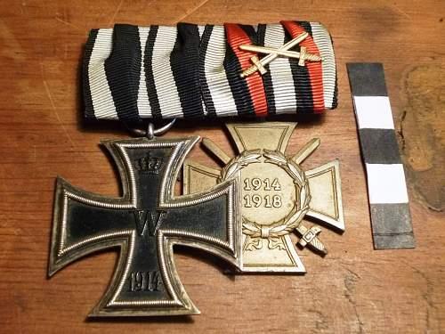 Click image for larger version.  Name:Eisernes Kreuz & Ehrenkreuz (1).jpg Views:277 Size:259.2 KB ID:226131