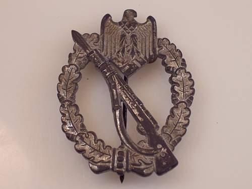 Silber Infanteri Sturmabzeichen