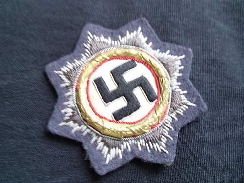 Cloth DKiG KM or Panzer ?