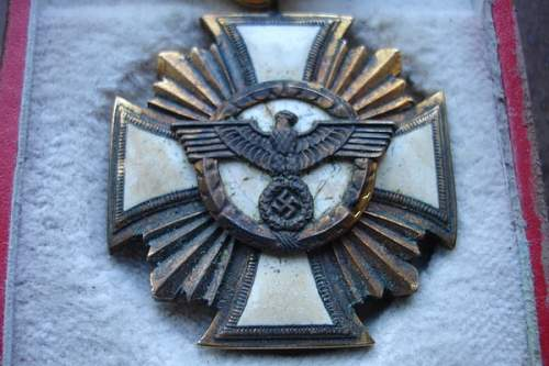 nsdap 25 year service medal